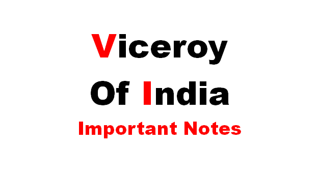 Viceroy of India